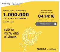 Vueling 1.000.000 di posti